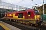 """Alstom 2061 - DB Schenker """"67021"""" 20.10.2014 Edinburgh,WaverleyStation [GB] Berthold Hertzfeldt"""