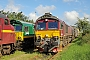 """EMD 20008212-2 - CFL Cargo """"T66K 714"""" 11.08.2012 Padborg [DK] Tomke Scheel"""
