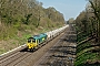 "EMD 20018342-2 - Freightliner ""66607"" 14.04.2015 Sonning Cutting [GB] Peter Lovell"