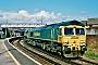 """EMD 20018342-6 - Freightliner """"66611"""" 08.04.2008 Dorchester [GB] Barry Tempest"""