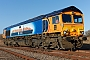 "EMD 20018356-2 - GBRf ""66709"" 24.01.2015 Wellingborough Yard [GB] Richard Gennis"