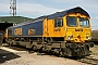 "EMD 20018356-4 - First GBRf ""66711"" 13.04.2010 Peterborough, GBRf Depot [GB] Richard Gennis"