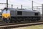 """EMD 20018360-7 - Captrain """"PB 017"""" 10.04.2010 AntwerpenSchijnpoort [B] Axel Schaer"""
