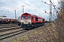 "EMD 20028453-3 - RheinCargo ""DE 670"" 09.02.2018 Karlsruhe,Güterbahnhof [D] Wolfgang Rudolph"