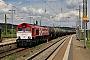"""EMD 20028453-4 - RheinCargo """"DE 671"""" 26.05.2014 Naumburg(Saale),Hauptbahnhof [D] Christian Klotz"""