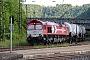 "EMD 20028453-5 - RheinCargo ""DE 672"" 14.05.2014 Geislingen(Steige) [D] Mark Barber"