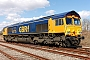 "EMD 20028454-3 - GBRf ""66715"" 02.04.2013 Wellingborough Yard [GB] Richard Gennis"