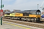 "EMD 20028462-17 - Colas Rail ""66850"" 25.09.2013 Cardiff Central [GB] Barry Tempest"
