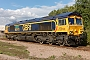 "EMD 20028462-21 - GBRf ""66741"" 01.09.2015 Wellingborough, Yard [GB] Richard Gennis"