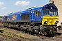 "EMD 20038513-1 - GBRf ""66750"" 18.05.2014 Wansford Station Yard [GB] Richard Gennis"