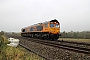 "EMD 20038513-1 - GBRf ""66750"" 09.11.2015 Charfield [GB] David Moreton"
