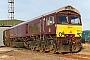 "EMD 20038515-7 - GBRf ""66743"" 31.11.2016 Peterborough, GBRf Depot [GB] Richard Gennis"