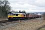 """EMD 20038515-8 - Colas Rail """"66843"""" 12.03.2010 Gobowen [GB] Mark Barber"""