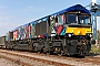 "EMD 20048652-001 - GBRf ""66718"" 02.10.2014 Wellingborough, Yard [GB] Richard Gennis"