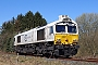 "EMD 20068864-022 - DB Cargo ""077 022-7"" 27.03.2017 Hermannsburg [D] Helge Deutgen"
