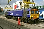 "EMD 20068902-001 - First GBRf ""66728"" 09.04.2008 Newport Docks [GB] Richard Gennis"