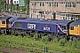 "EMD 20068902-001 - First GBRf ""66728"" 16.06.2008 Eastleigh [GB] Roger Morris"