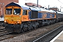 "EMD 20068902-002 - GBRf ""66729"" 17.08.2013 Doncaster, Station [GB] Andrew  Haxton"