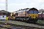 "EMD 968702-133 - DB Schenker ""66133"" 07.05.2010 Knottingley depot [GB] Andy Rawlinson"