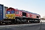 "EMD 968702-136 - DB Cargo ""66136"" 18.01.2017 London, Barking Rail Freight Terminal [GB] Adam McMillan"