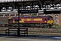 "EMD 968702-155 - DB Schenker ""66155"" 14.04.2014 Worcester, Shrub Hill Station [GB] Dan Adkins"