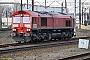 """EMD 968702-163 - DB Cargo """"66163"""" 12.12.2017 Warszawa-Praga [PL] Axel Schaer"""