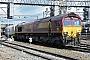 """EMD 968702-16 - DB Schenker """"66016"""" 21.04.2012 Crewe [GB] Dan Adkins"""