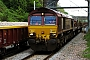 "EMD 968702-17 - EWS ""66017"" 07.05.2008 West Bromwich, Tame Bridge Parkway Station [GB] Julian Mandeville"