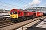 """EMD 968702-19 - DB Cargo """"66019"""" 15.02.2018 Doncaster [GB] Mark Barber"""