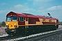 """EMD 968702-1 - EWS """"66001"""" 26.03.1998 London(Ontario) [CDN] Steve Jordan"""