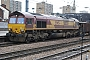 "EMD 968702-220 - EWS ""66220"" 01.03.2008 Doncaster [GB] Andrew  Haxton"