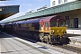 "EMD 968702-250 - EWS ""66250"" 02.03.2002 Cardiff, Central Station [GB] Julian Mandeville"