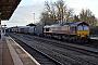 """EMD 968702-2 - DB Schenker """"66002"""" 26.02.2014 Worcester,ShrubHill [GB] Dan Adkins"""