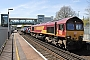"EMD 968702-53 - DB Cargo ""66053"" 04.05.2016 Southampton, Airport Parkway Station [GB] Barry Tempest"
