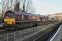 "EMD 968702-55 - DB Schenker ""66055"" 30.11.2013 Bath [GB] Tim Hall"