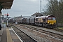 "EMD 968702-59 - DB Schenker ""66059"" 09.04.2014 Worcester, Shrub Hill Station [GB] Dan Adkins"