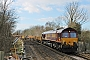 "EMD 968702-69 - DB Schenker ""66069"" 14.02.2015 Moreton(Dorset) [GB] Barry Tempest"