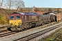 "EMD 968702-88 - DB Cargo ""66088"" 19.11.2016 Wellingborough [GB] Richard Gennis"