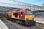 """Alstom 2056 - DB Cargo """"67016"""" 01.06.2016 Edinburgh,WaverleyStation [GB] Przemyslaw Zielinski"""