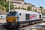 """Alstom 2066 - DB Schenker """"67026"""" 28.07.2014 Edinburgh,Waverleystation [GB] Martin Weidig"""