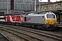 "Alstom 2066 - DB Schenker ""67026"" 14.11.2015 Carlisle,Station [GB] Julian Mandeville"