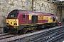 """Alstom 2047 - DB Schenker """"67007"""" 16.06.2014 EdinburghWaverley [GB] Berthold Hertzfeldt"""