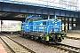 """Pesa ? - PKP Cargo """"SM42-1601"""" 21.12.2015 Poznan,PoznanGlowny [PL] Przemyslaw Zielinski"""