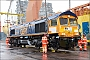"Progress Rail 20148150-005 - GBRf ""66777"" 13.02.2016 Newport, Docks [GB] Richard Gennis"