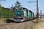 """Vossloh ? - SNCF """"460090"""" 04.08.2015 LesAubrais-Orléans(Loiret) [F] Thierry Mazoyer"""