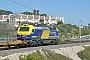 """Vossloh 2523 - Continental Rail """"335 016-2"""" 04.13.2016 CalaRomana(Taragone) [E] Thierry Leleu"""